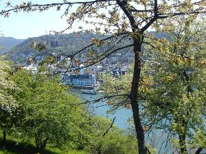 Ausblicke auf Boppard am Rhein
