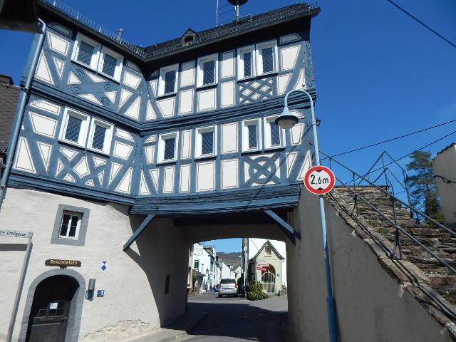 Wachport, das alte Rathaus von Filsen