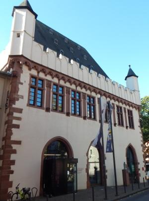 Das Caricatura Museum in der neuen Altstadt Frankfurt