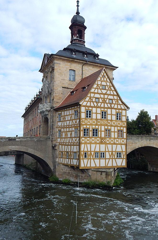 Bamberg halber Tag - das Alte Rathaus