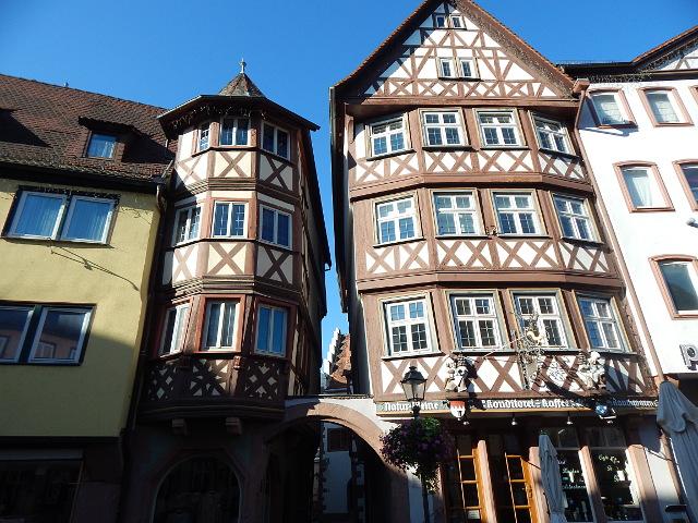 Der historische Marktplatz von Wertheim