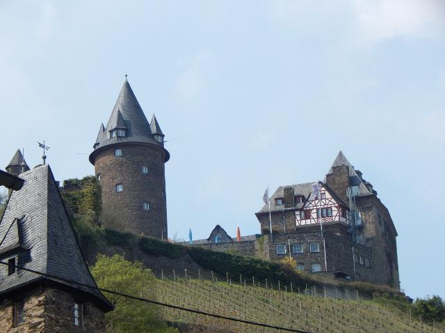 Burg Stahleck in Bacharach am Rhein ist eine Jugendherberge