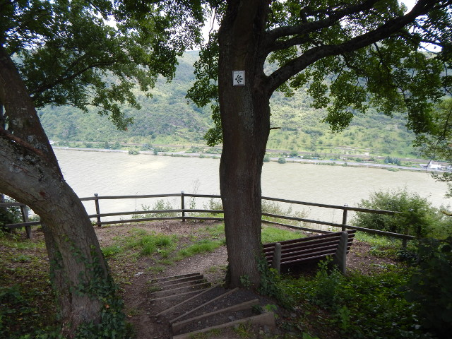 Der Rheinbergblick bei Boppard-Weiler