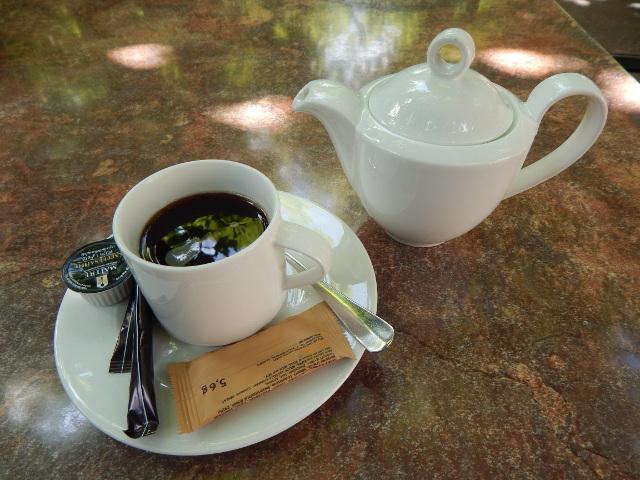 Ein Kännchen Kaffee zur Entspannung