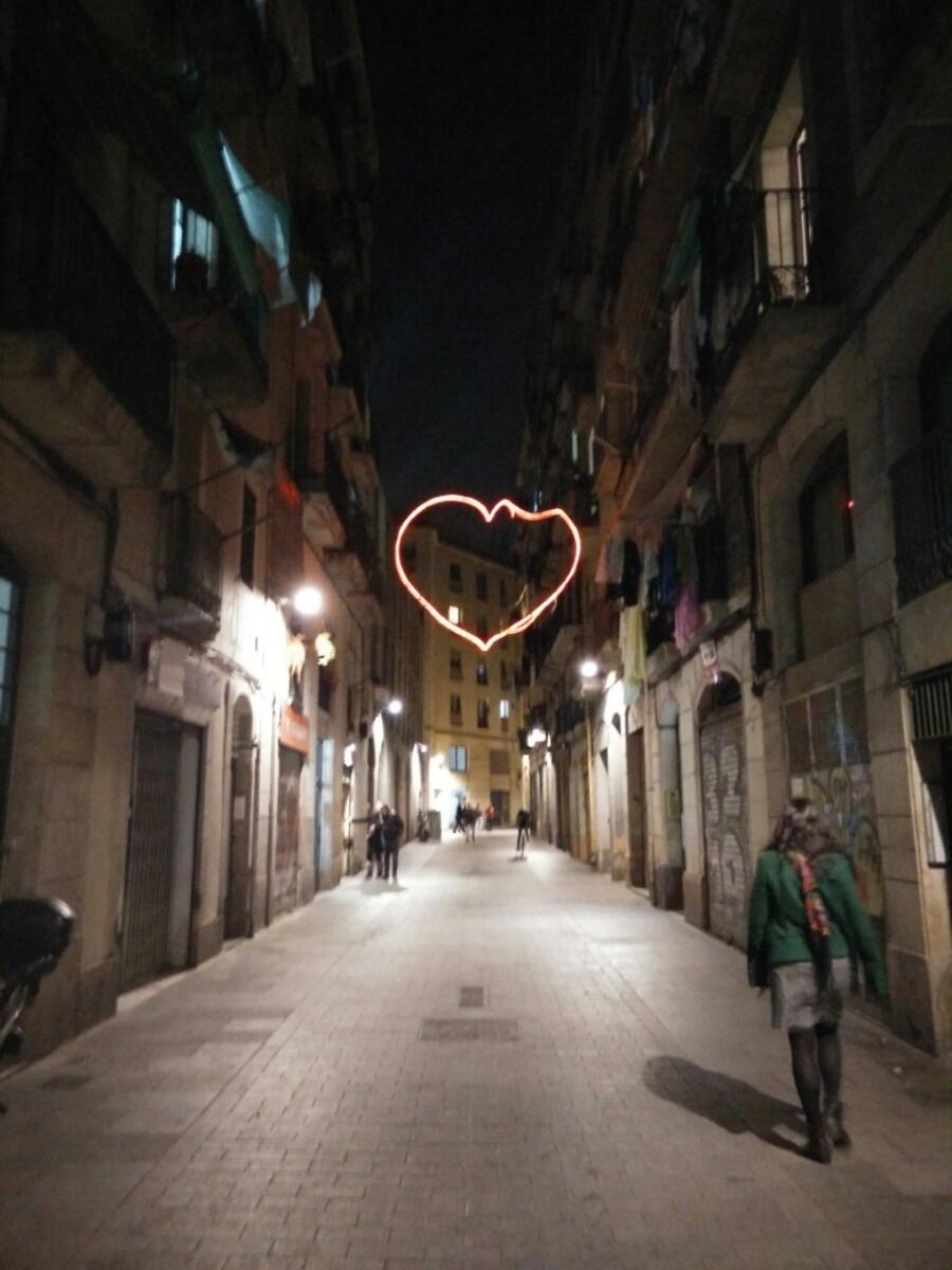 corazón enorme