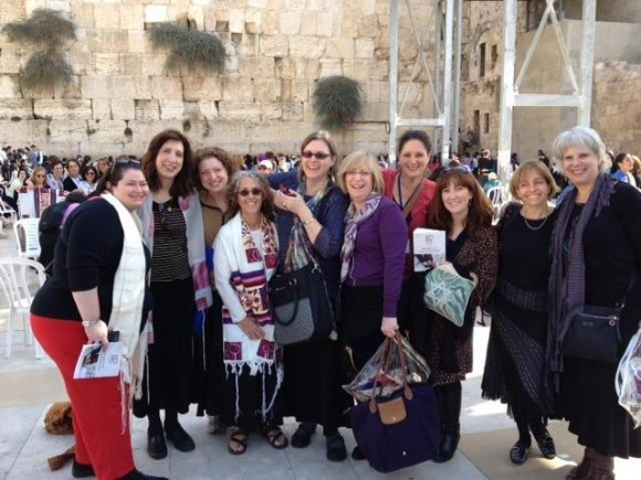 Members of the CCAR/WRN Women of the Wall Rabbinic Mission
