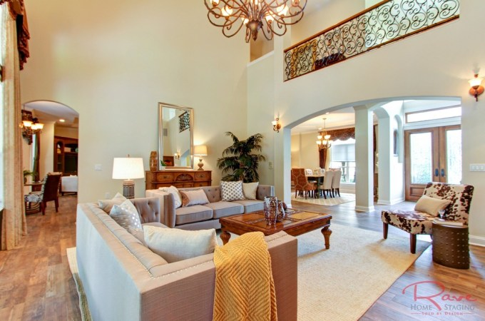 traditional vs transitional home staging