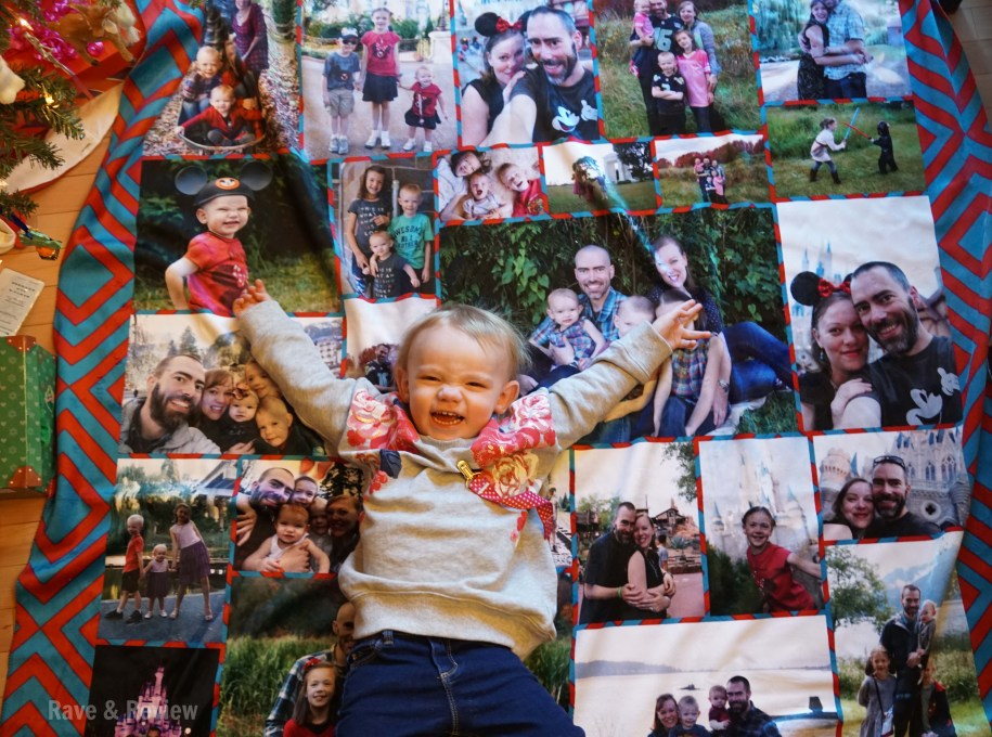 Photo blankets from Collage.com