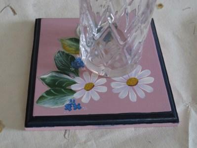 coaster roz + pahar
