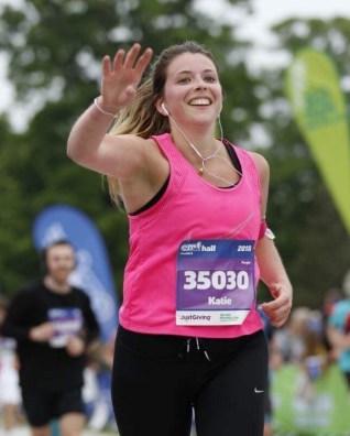 Katie Allan half marathon