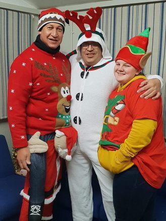 The Ravelrig Santa helpers