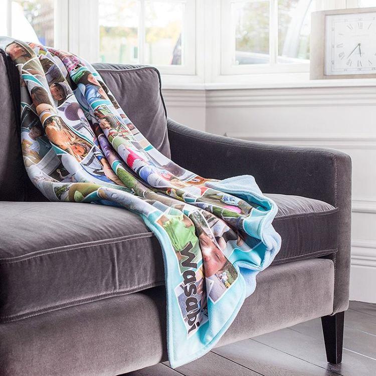 Photo Blankets. Custom Blankets & Collage Blankets ...
