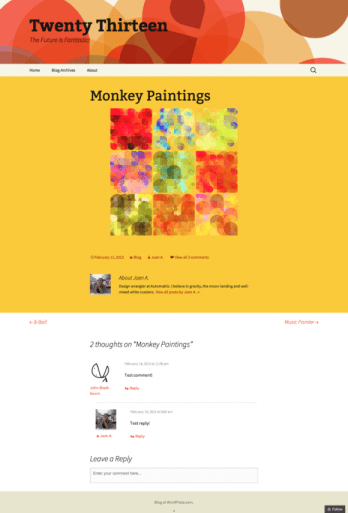 Monkey-Paintings-Twenty-Thirteen