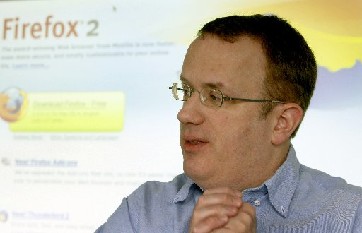 Brendan Eich. Chronicle Archive, 2008
