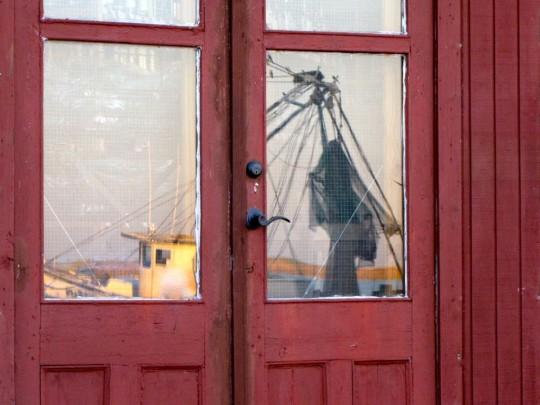 Reflection of Shrimp Boat