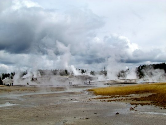 Geysers And Hot Pools Everywhere