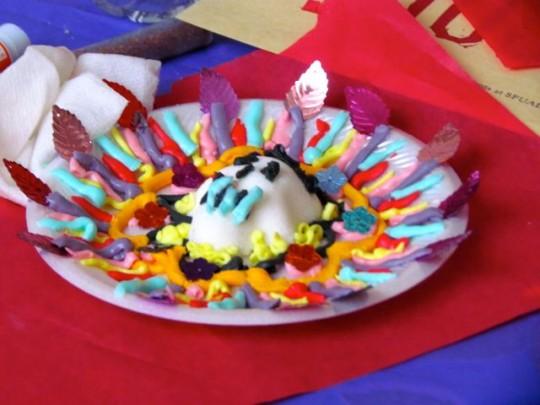 Sugar Skull For Dia De Los Muertos