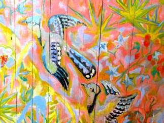 Detail of Blue Jays