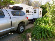 Campsite El Chorro Regional Park