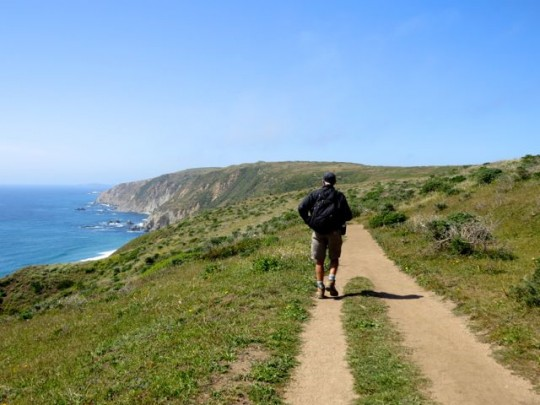 On The Tomales Point Trail