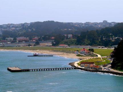 The Presidio from the Golden Gate Bridge