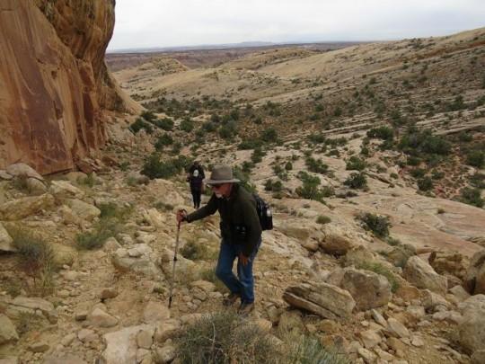 A Long Steep Climb