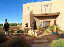 Sculpture Exhibit By Native American Women