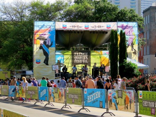 Small Stage At The Festival