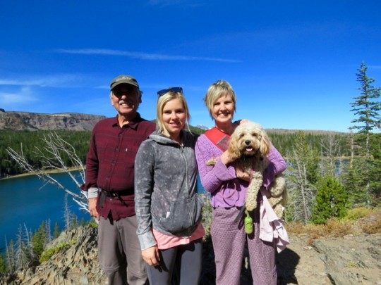 Steve, Larissa, Leslie And Maple