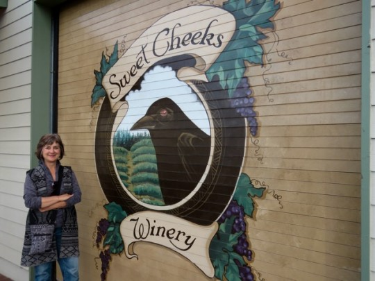 Love The Logo For Sweet Cheeks Winery