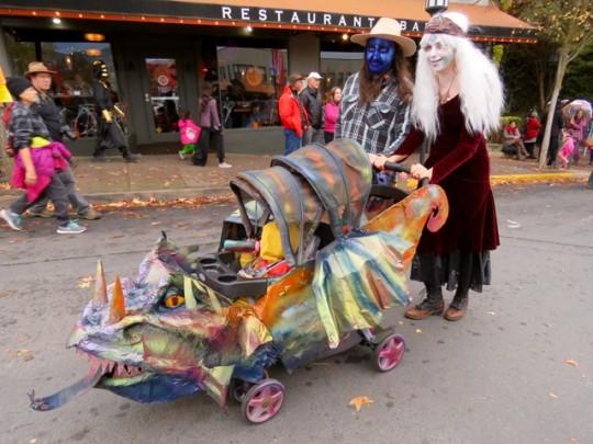 Flying Dragon Baby Stroller
