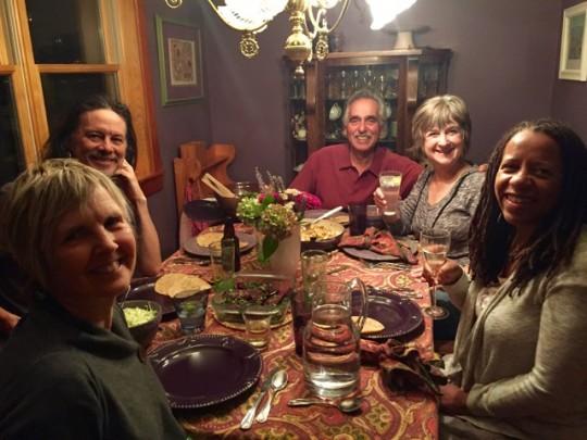 Dinner With Leslie, John, Steve, And Lindi