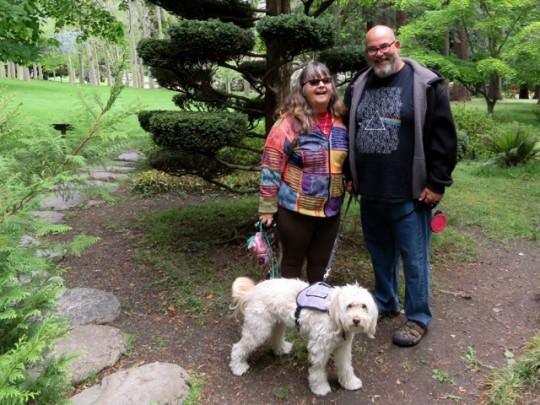 In Lithia Park With Jodee, Bill And Tessa