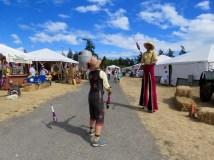 Jugglers at the San Juan County Fair