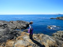 Hiking at Iceberg Point