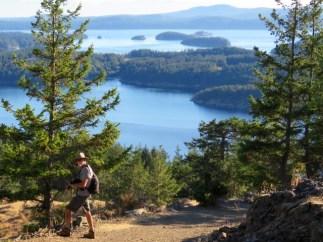 Views from Turtleback Mountain, Orcas
