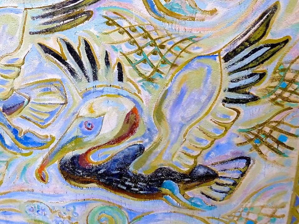 Mural by Walter Anderson, Ocean Springs, Mississippi