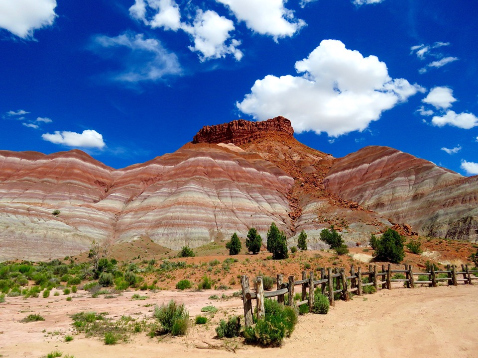 Painted Hills, Old Paria Township, Utah
