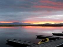 Sunrise at Rocky Point, Upper Klamath Lake, Oregon