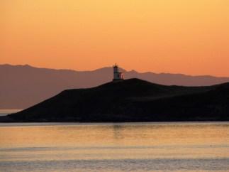 Sunset at Shark Reef, Lopez Island, Washington