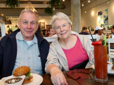 Lunch with Penny & Tom