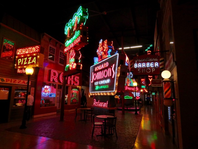 Main Street in the American Sign Museum