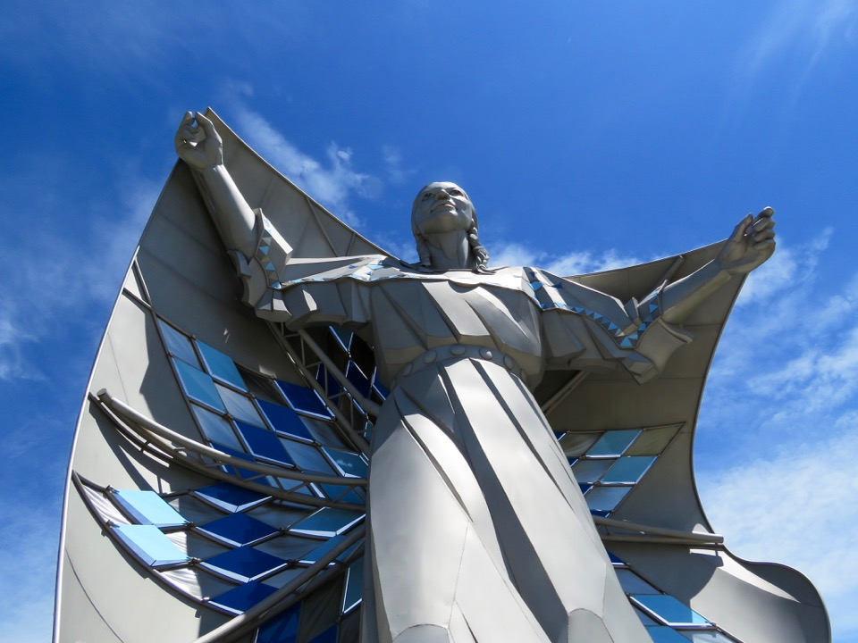 Destiny Statue in South Dakota