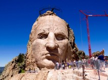 The magnificent Crazy Horse Memorial