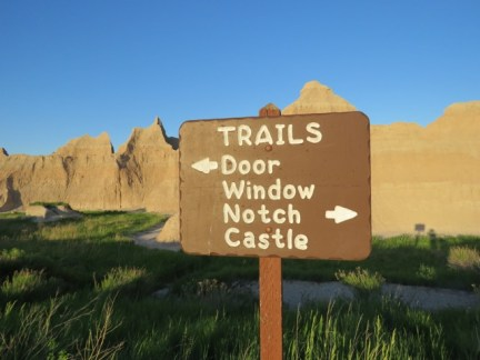 Trails in the Badlands