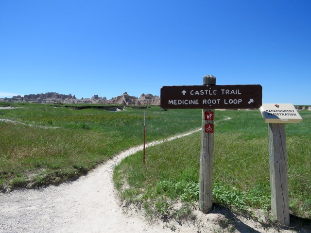 Castle Trail and Medicine Root Loop