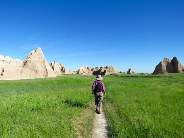 Giant sandcastles on the Castle Trail