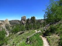 On the Sunday Gulch Trail