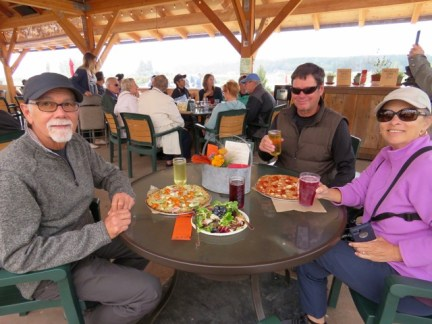 Finnriver Cidery with Henry and Loretta