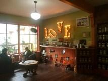 Cozy tea shop in Nehalem